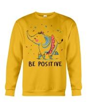 Be Positive Crewneck Sweatshirt thumbnail