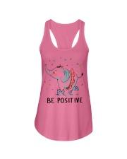 Be Positive Ladies Flowy Tank thumbnail