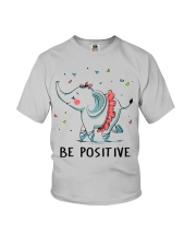 Be Positive Youth T-Shirt thumbnail