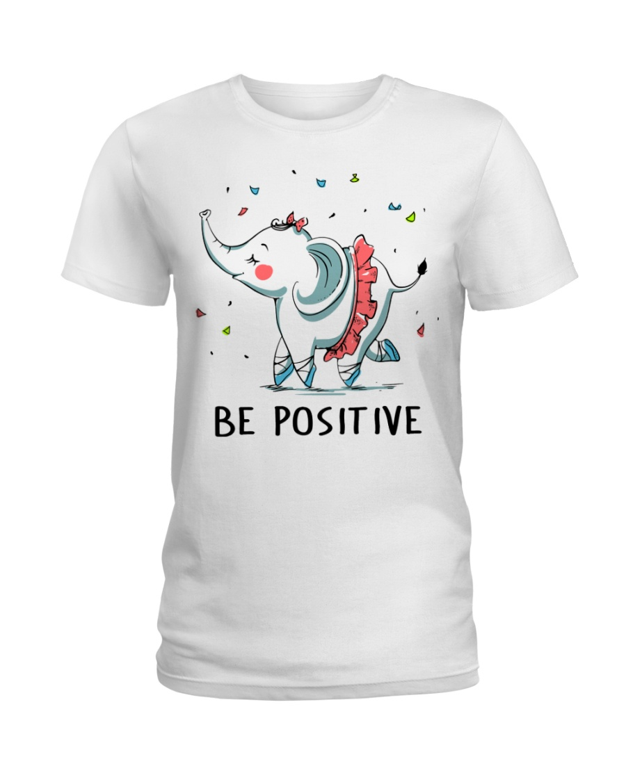 Be Positive Ladies T-Shirt