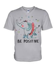 Be Positive V-Neck T-Shirt thumbnail