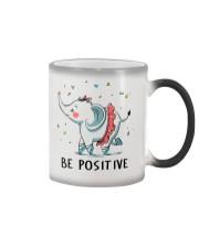 Be Positive Color Changing Mug thumbnail