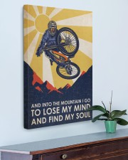 Cycling Find My Soul 20x30 Gallery Wrapped Canvas Prints aos-canvas-pgw-20x30-lifestyle-front-01