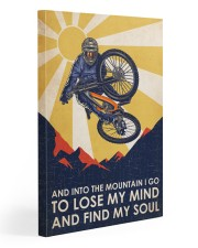 Cycling Find My Soul 20x30 Gallery Wrapped Canvas Prints front