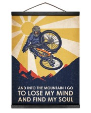 Cycling Find My Soul 12x16 Black Hanging Canvas thumbnail