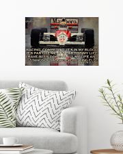 Racing Competing It's In My Blood 24x16 Poster poster-landscape-24x16-lifestyle-01