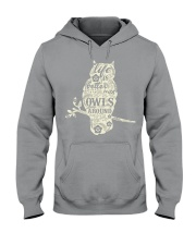 Life is better with owls around Hooded Sweatshirt thumbnail