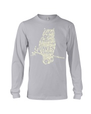 Life is better with owls around Long Sleeve Tee thumbnail