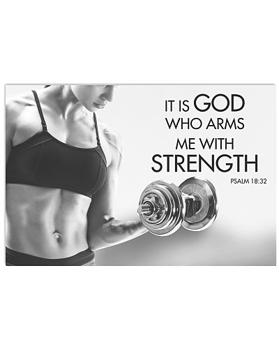 Fitness It Is God Who Arms Me With Strength