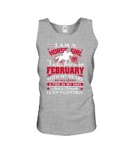 I am a horse girl Unisex Tank thumbnail