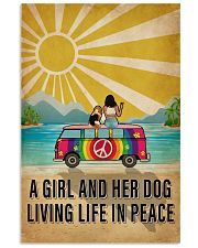 Ocean Living Life In Peace 16x24 Poster front