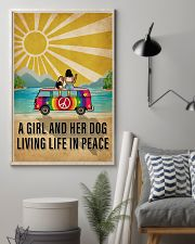 Ocean Living Life In Peace 16x24 Poster lifestyle-poster-1