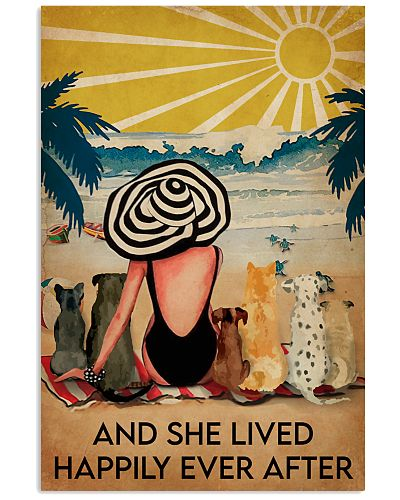 Ocean and Dogs and She lived happily ever after