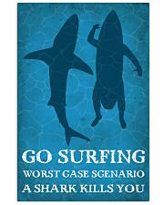 Surfing Shark Kills You 16x24 Poster front