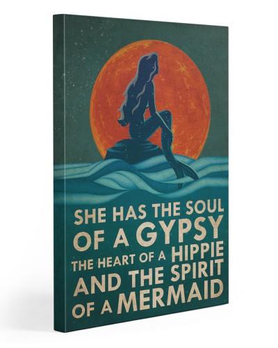 Mermaid She has The Soul Of A Gyspy