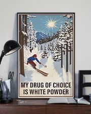 Skiing My Drug Of Choice 16x24 Poster lifestyle-poster-2
