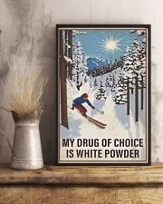 Skiing My Drug Of Choice 16x24 Poster lifestyle-poster-3