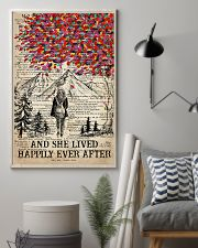 Hiking And She Lived Happily Ever After 16x24 Poster lifestyle-poster-1