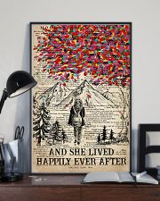 Hiking And She Lived Happily Ever After 16x24 Poster lifestyle-poster-2