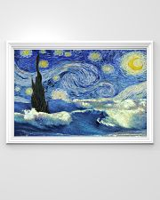 Surfing Starry Night 36x24 Poster poster-landscape-36x24-lifestyle-02