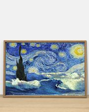 Surfing Starry Night 36x24 Poster poster-landscape-36x24-lifestyle-03