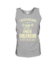 Spoiled girlfriend Unisex Tank thumbnail