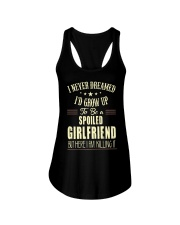 Spoiled girlfriend Ladies Flowy Tank front