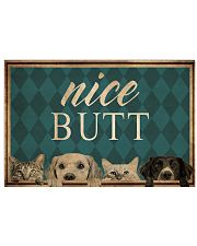 Dog Cat Nice Butt 36x24 Poster front