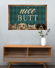 Dog Cat Nice Butt 36x24 Poster poster-landscape-36x24-lifestyle-21