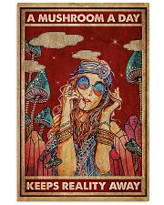 Hippie A Mushroom A Day 16x24 Poster front
