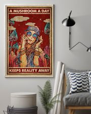Hippie A Mushroom A Day 16x24 Poster lifestyle-poster-1
