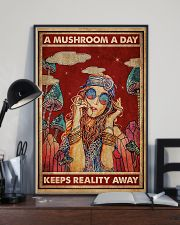 Hippie A Mushroom A Day 16x24 Poster lifestyle-poster-2