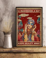 Hippie A Mushroom A Day 16x24 Poster lifestyle-poster-3