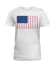 beer flag Ladies T-Shirt front