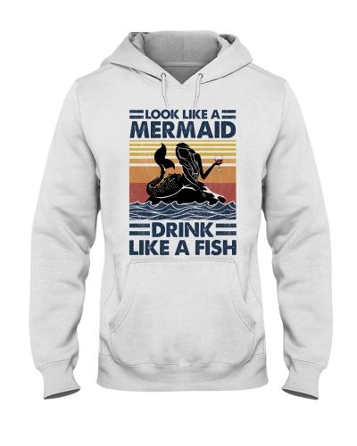 Mermaid Drink Like A Fish