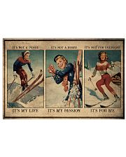 Skiing It's My Life 36x24 Poster front