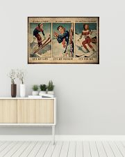Skiing It's My Life 36x24 Poster poster-landscape-36x24-lifestyle-01