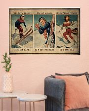 Skiing It's My Life 36x24 Poster poster-landscape-36x24-lifestyle-18