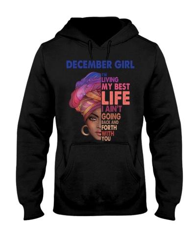 Black Woman December Girl