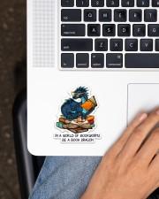 Book Dragon Sticker - Single (Vertical) aos-sticker-single-vertical-lifestyle-front-11