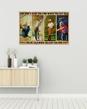 Golf You Don't Stop Golfing 36x24 Poster poster-landscape-36x24-lifestyle-01