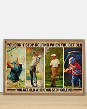 Golf You Don't Stop Golfing 36x24 Poster poster-landscape-36x24-lifestyle-03