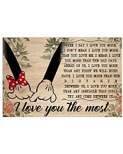 I Love You The Most 36x24 Poster front