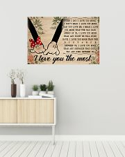 I Love You The Most 36x24 Poster poster-landscape-36x24-lifestyle-01