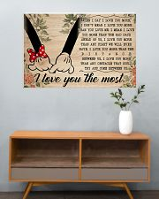 I Love You The Most 36x24 Poster poster-landscape-36x24-lifestyle-21