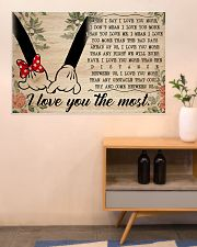 I Love You The Most 36x24 Poster poster-landscape-36x24-lifestyle-22