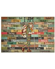 Hiking I Am 36x24 Poster front