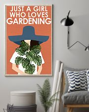 Garden Just A Girl 16x24 Poster lifestyle-poster-1