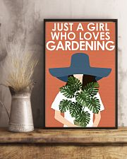 Garden Just A Girl 16x24 Poster lifestyle-poster-3