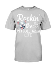 pitbull mom life Classic T-Shirt thumbnail